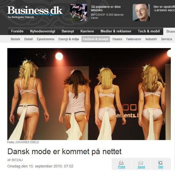 Business 15 sep10 Dansk mode er kommet på nettet