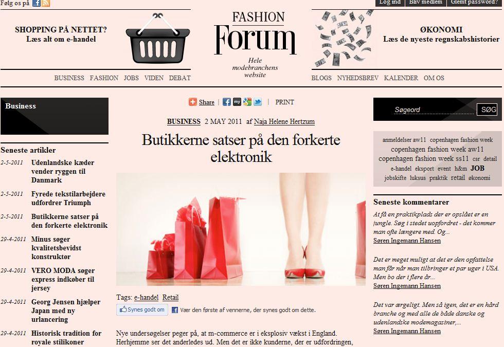 Fashion forum 2maj11
