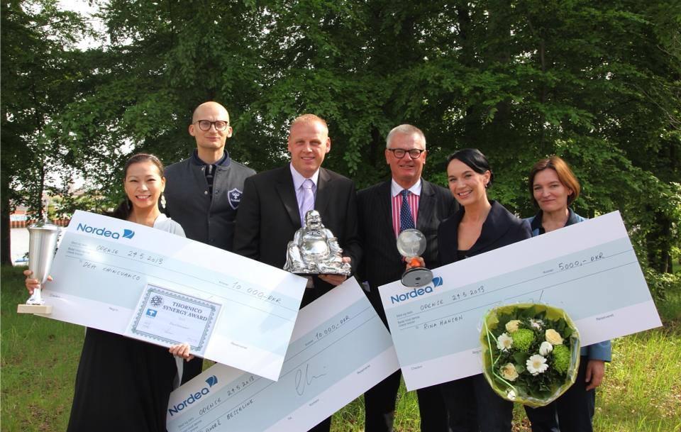 Rina Hansen receives Thornico Idea Award 2013
