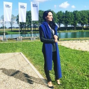 Rina Hansen BMW Think Tank event